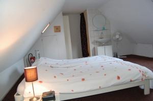vakantiehuisje slaapkamer